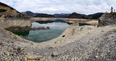Počelo punjenje Zaovljanskog jezera