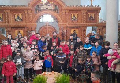 Badnji dan i Božić u crkvi u Skelanima (FOTO)